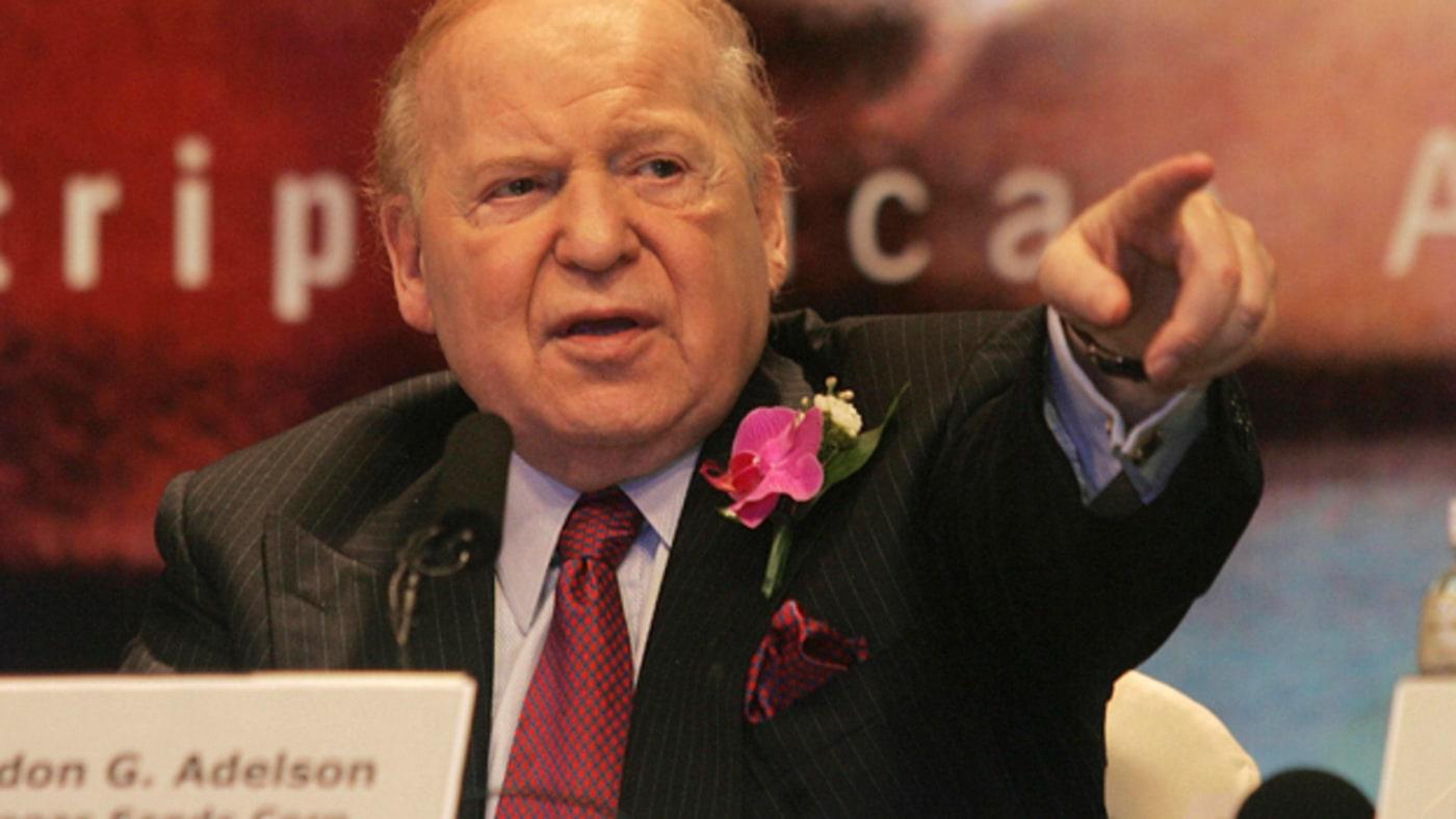 Sands Bethlehem Sheldon Adelson MGM