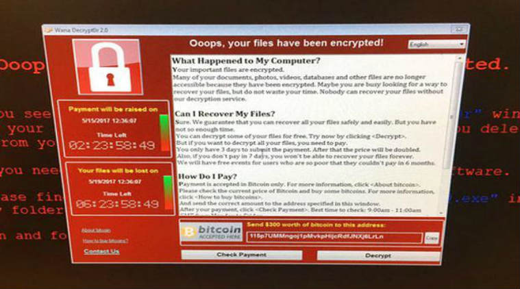 ransomware WannaCry cyber attack