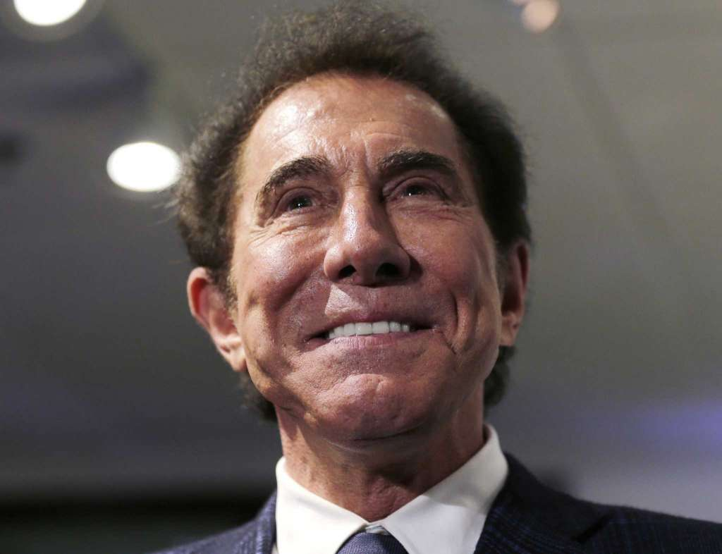 casino stocks Steve Wynn
