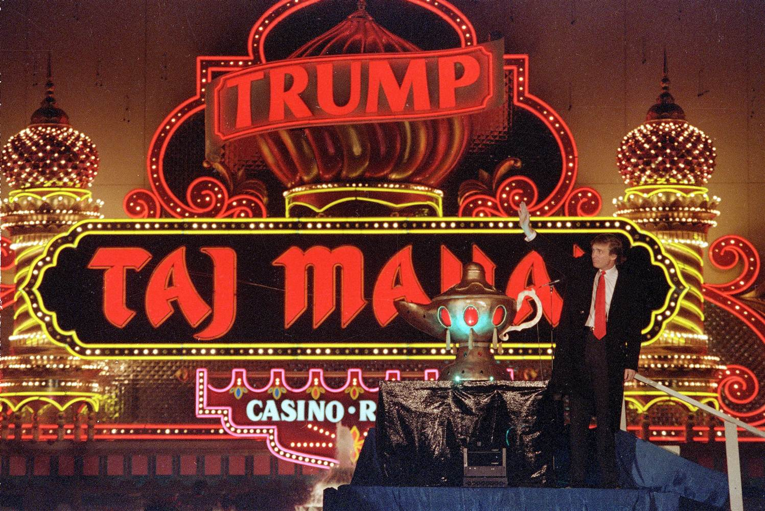 Hard Rock Atlantic City Trump Taj Mahal