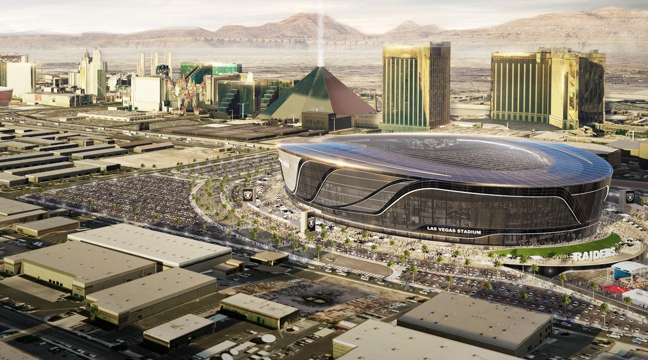 FAA Las Vegas Raiders stadium
