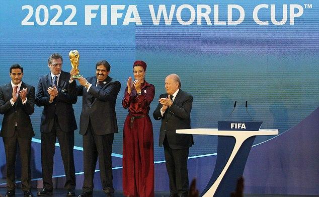 2022 FIFA World Cup Sepp Blatter Qatar
