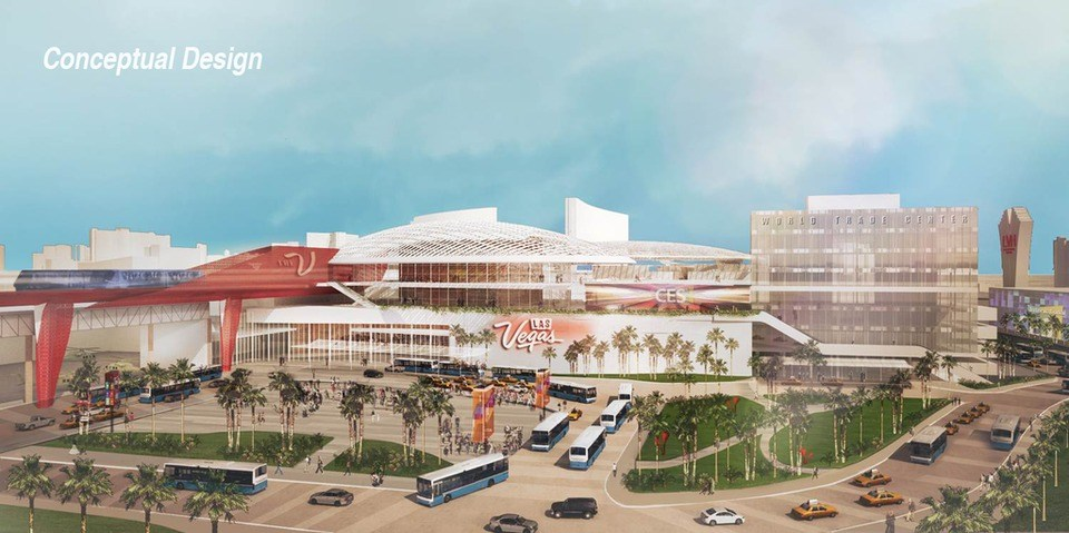 Proposed $1.4B overhaul of Las Vegas Convention Center