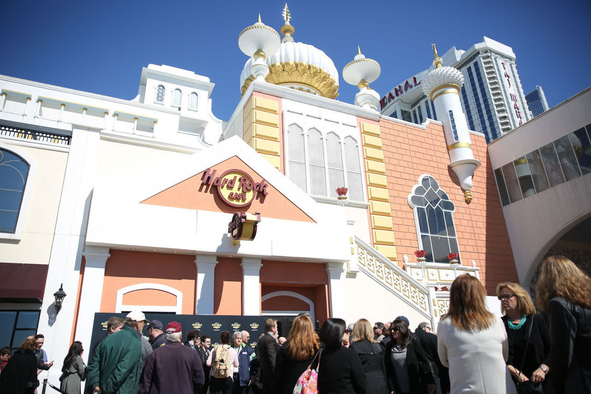 Atlantic City gaming revenue Hard Rock