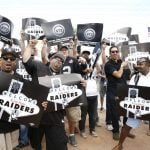 Oakland Raiders Las Vegas media partners
