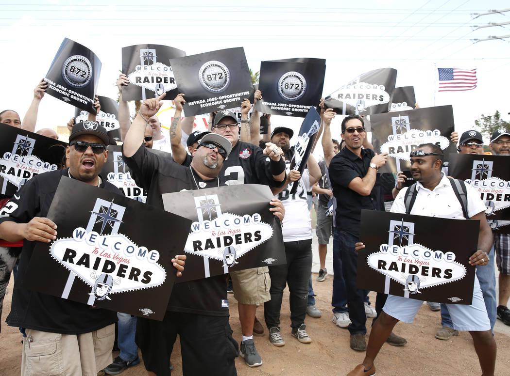 Oakland Raiders Las Vegas media partners