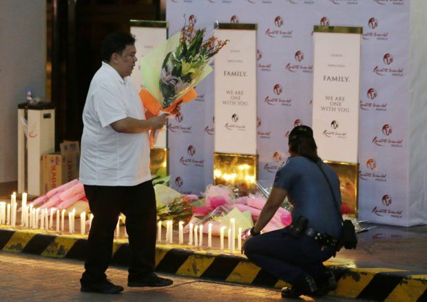 Resorts World Manila memorial