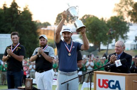 golf odds Dustin Johnson US Open
