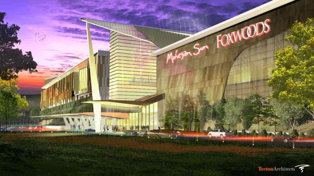 East Windsor Casino rendering