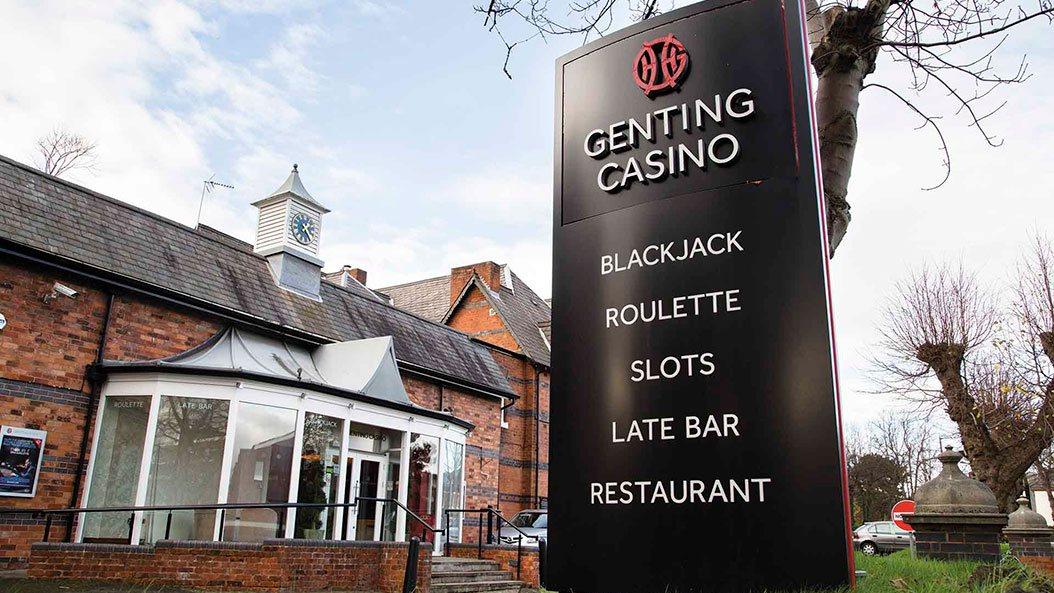 Genting Casino Birmingham robbery