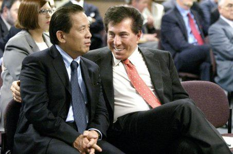 Kazuo Okada and Steve Wynn