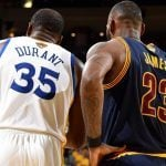 Warriors sweep Kevin Durant LeBron James