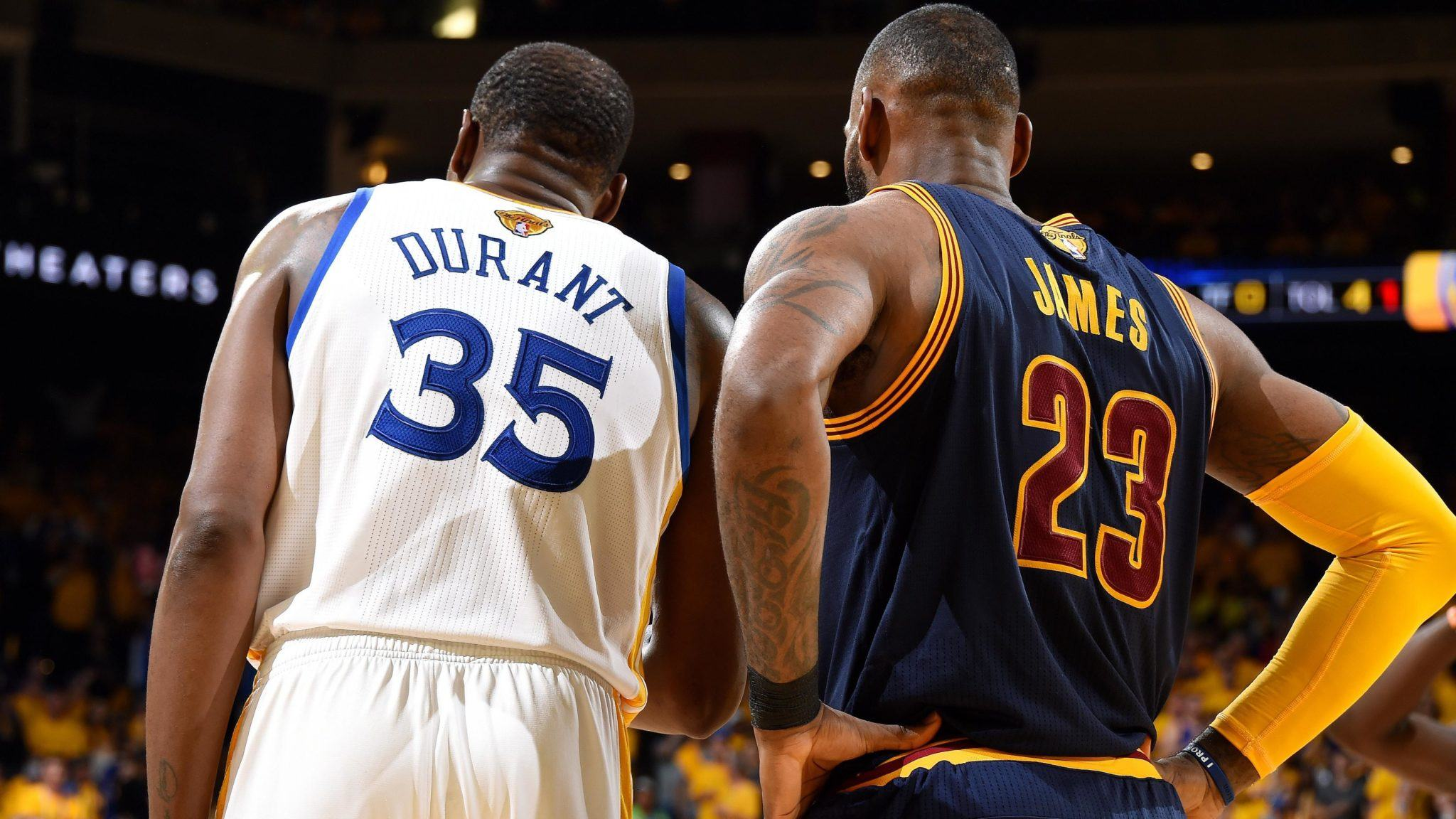 Warriors sweep Kevin Durant LeBron James