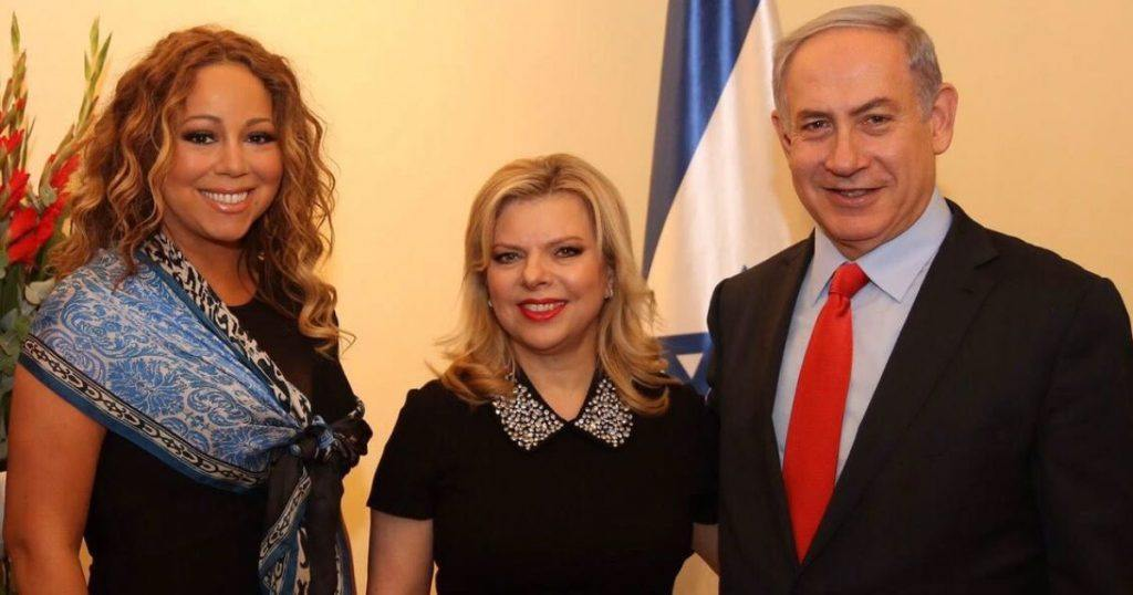 Mariah Carey James Packer Netanyahu scandal