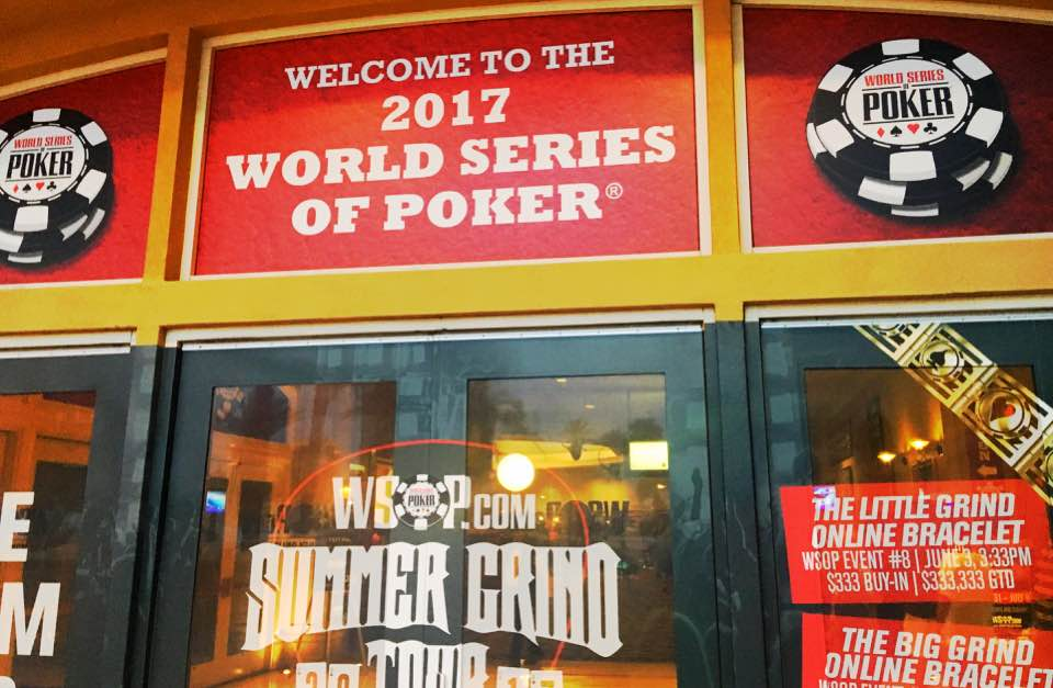 Entry to the 2017 World Series of Poker