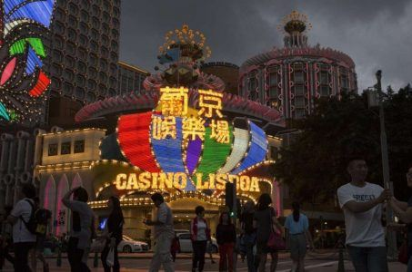 Macau casino revenue mass market
