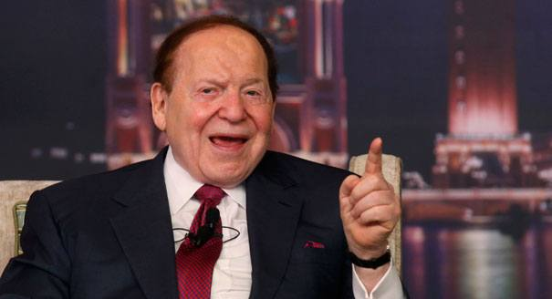 Sheldon Adelson, owner of Sands Casino Resort Bethlehem
