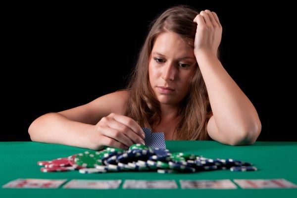 Female gambling problems