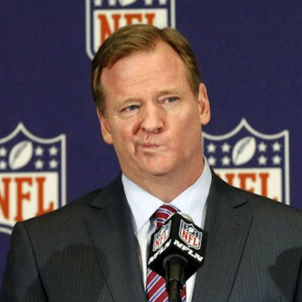 Roger Goodell, resisting calls to testify in a lawsuit brought against the NFL by Strikes for Kids.