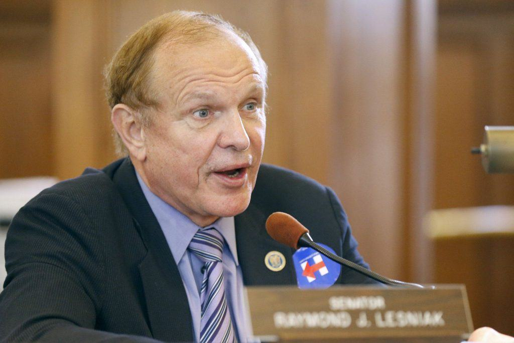 Raymond Lesniak, fighting for sports betting
