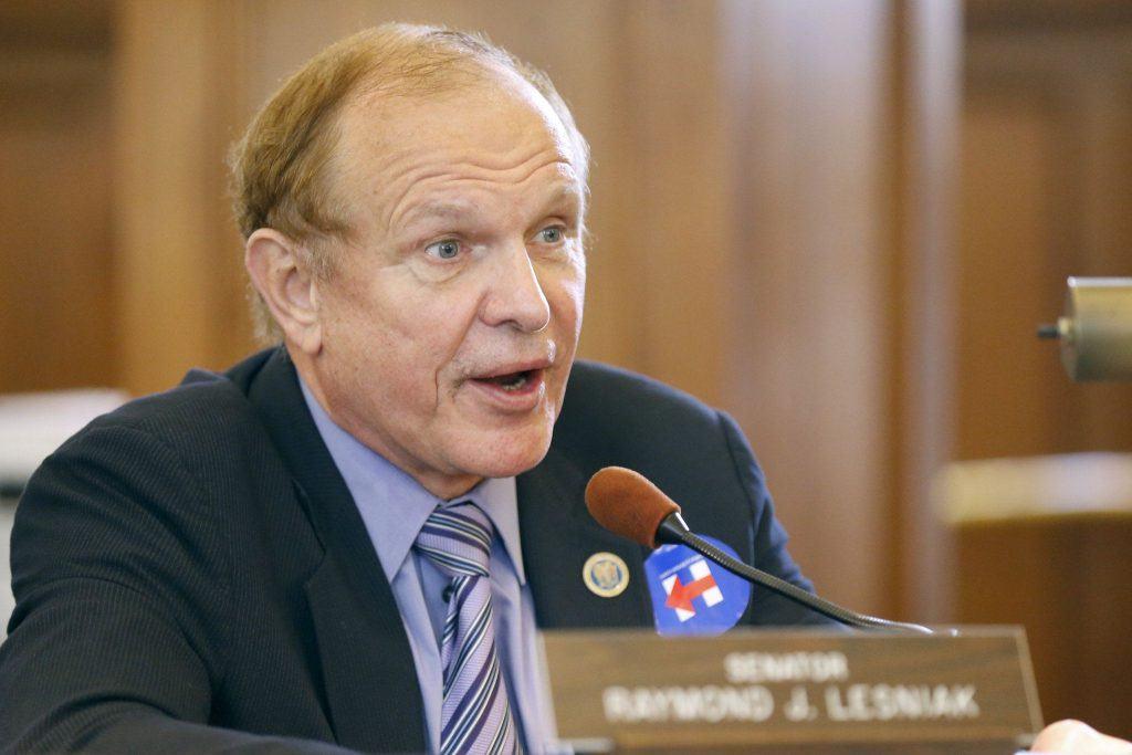 Raymond Lesniak, fighting for sports betting