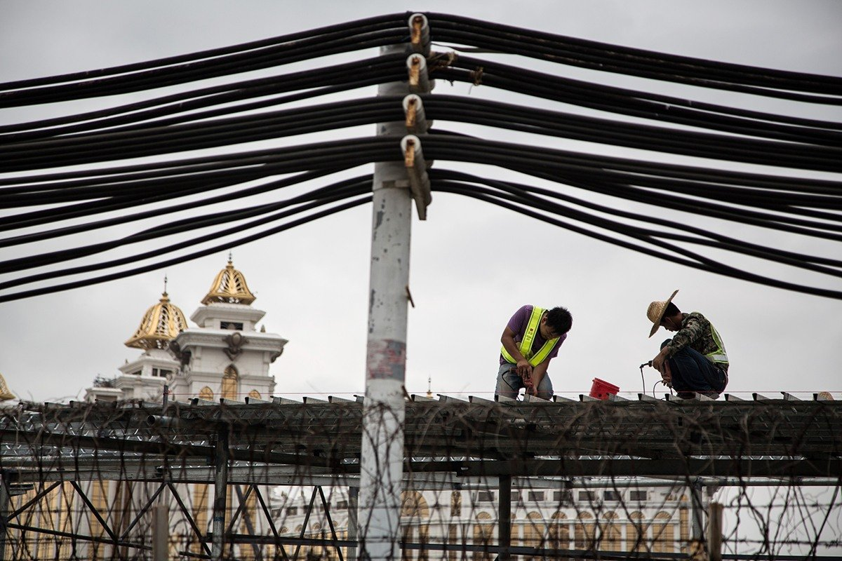 Grand Lisboa Palace construction death