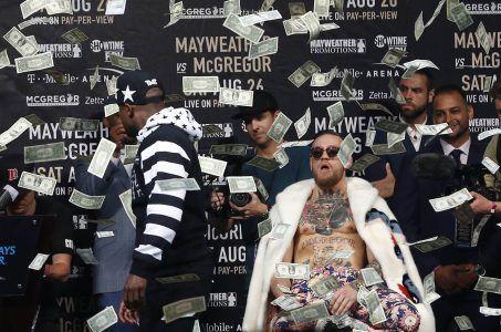 Mayweather vs. McGregor odds prop lines