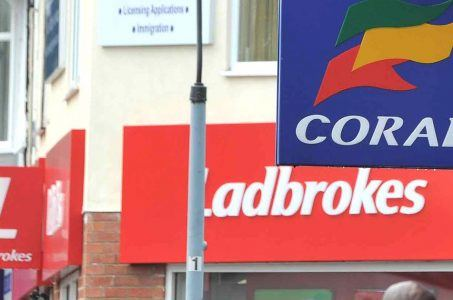 Ladbrokes Coral online ops soar but retail betting is down