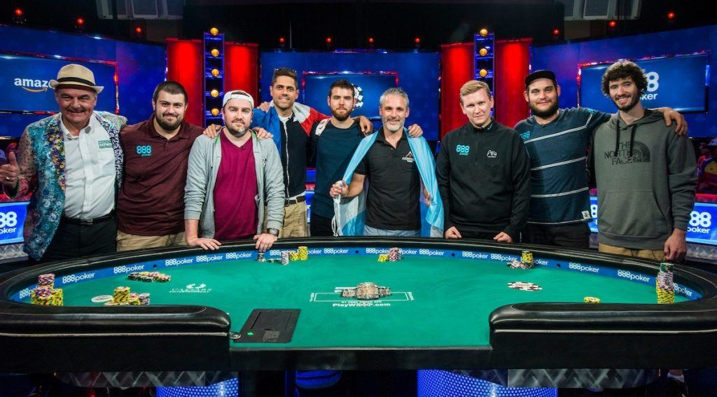 World Series of Poker Main Event Final Table