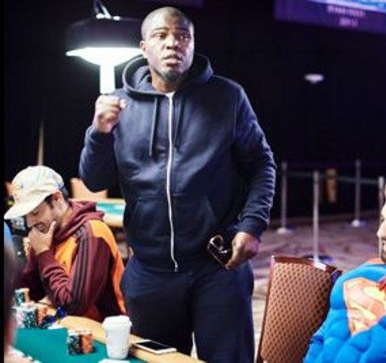 Paul Senat at the WSOP