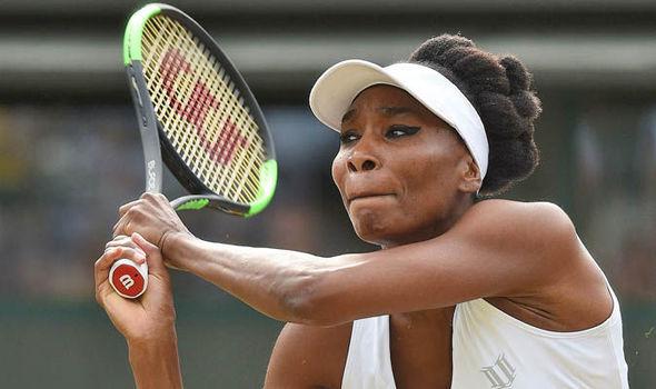 Venus Williams Wimbledon 2017 quarterfinals
