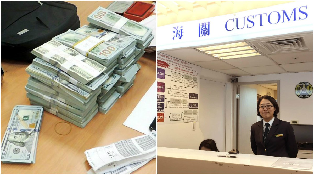 Taiwan customs money laundering