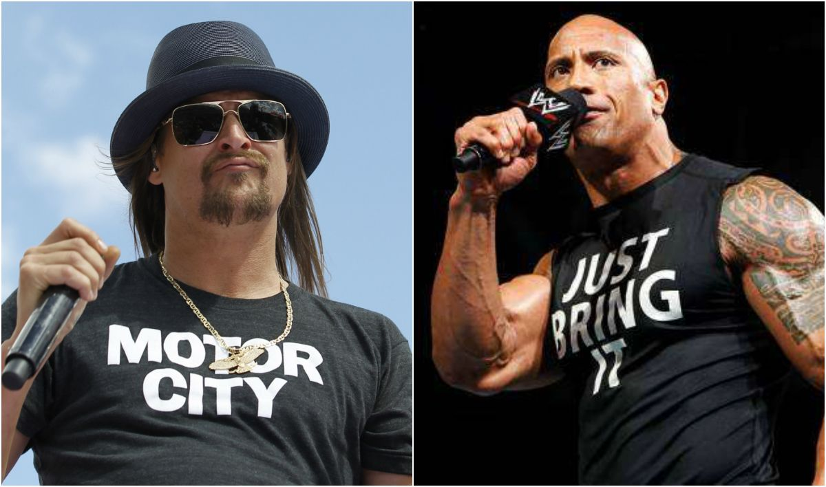 political betting markets Kid Rock The Rock