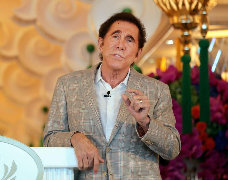 Macau casino stocks Steve Wynn