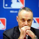 sports betting MLB Rob Manfred