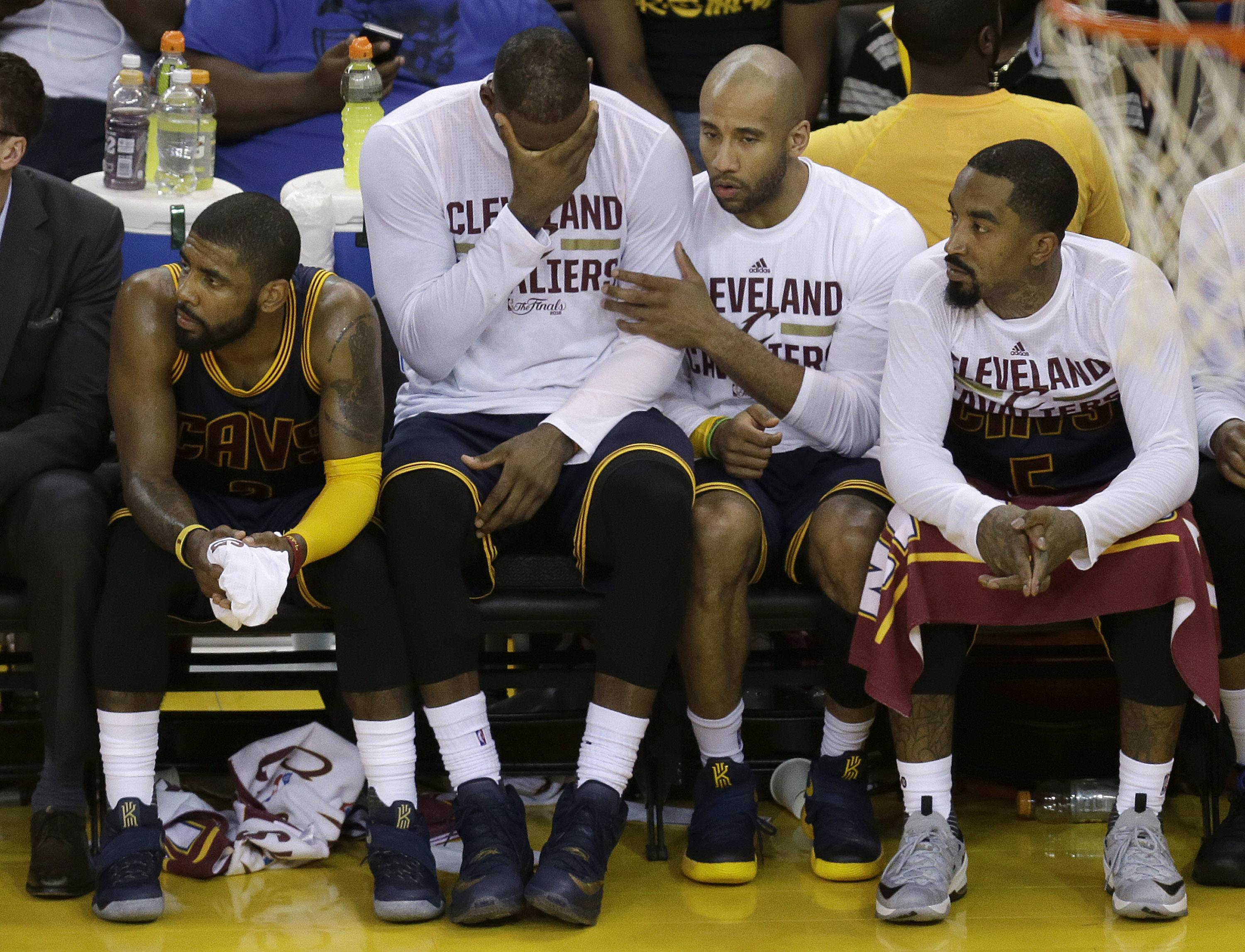 NBA title odds Kyrie Irving Cavaliers