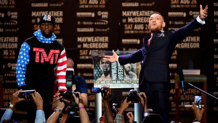 Mayweather vs. McGregor fight odds