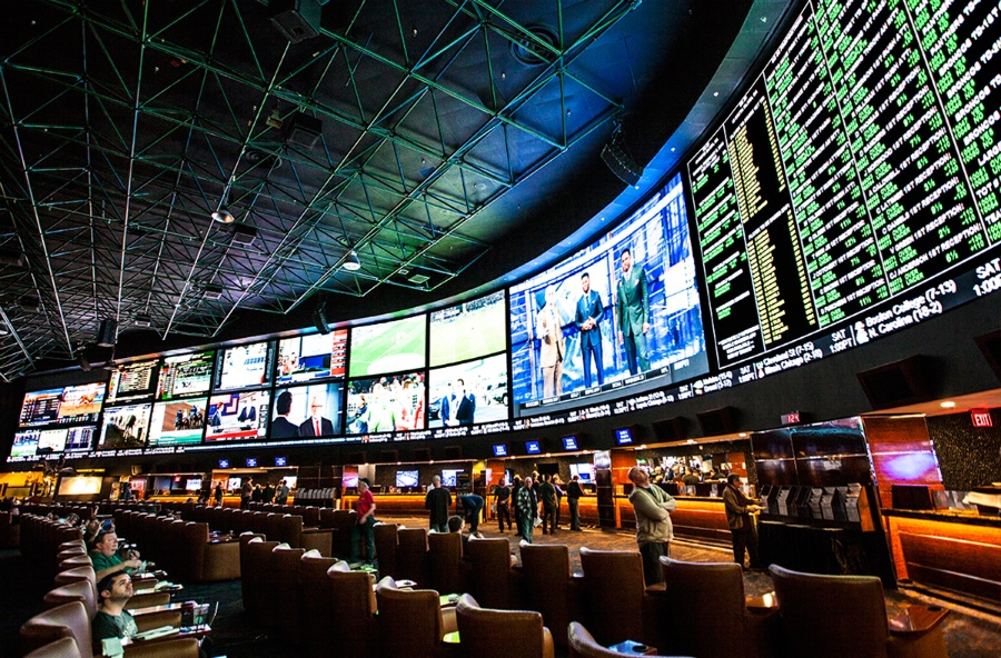 June Nevada casino revenue sportsbook