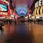 Fremont Street Places Security Barriers to Protect Pedestrians in Busy Downtown Hub