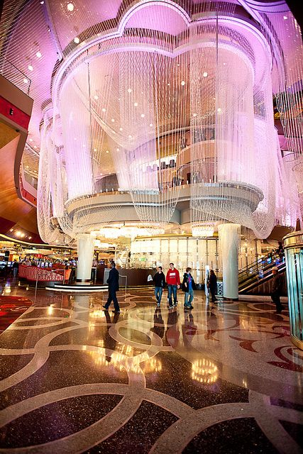 Chandelier Bar $100 million makeover Cosmopolitan of Las Vegas