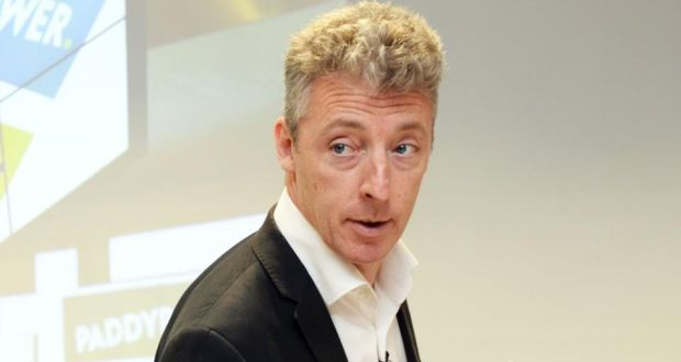 Breon Corcoran, outgoing CEO of Paddy Power Betfair