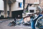 Destruction of Typhoon Hato in Macau