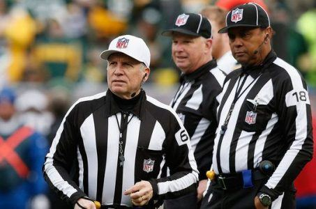 NFL referees full time