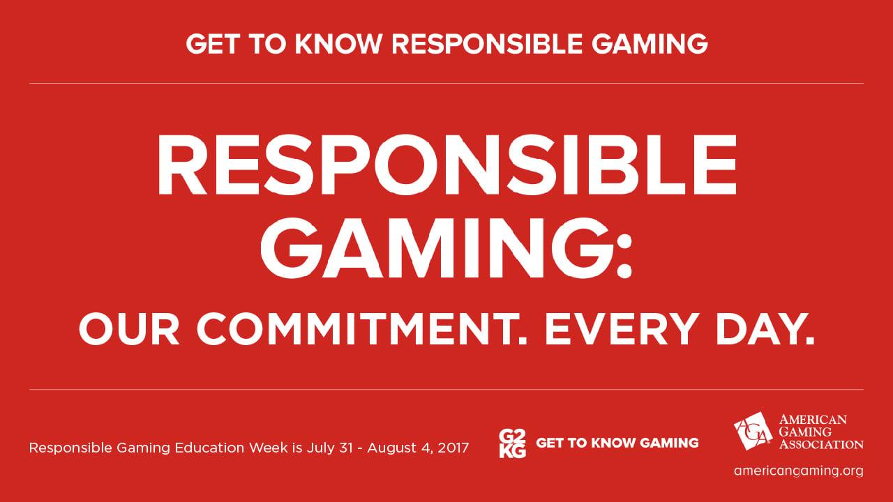 Responsible Gaming Education Week 2017