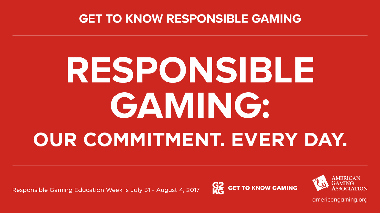 Responsible Gaming Education Week 2017