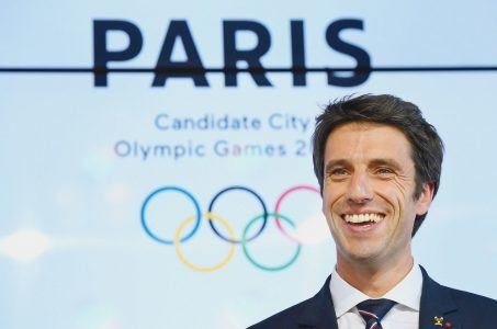 Paris 2024 Olympics Tony Estanguet