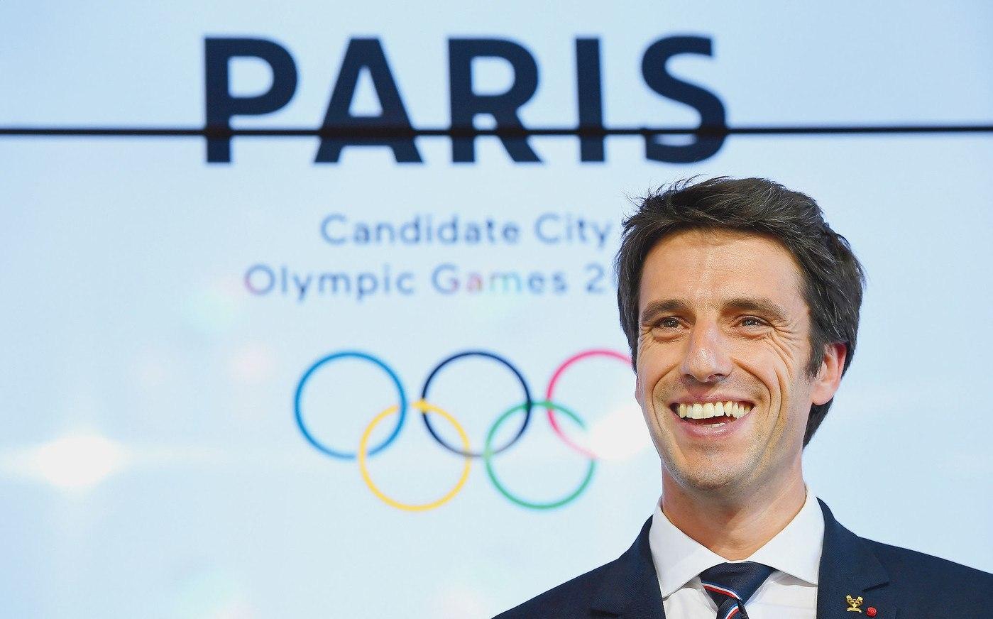 Paris 2024 Olympics Tony Estanguet