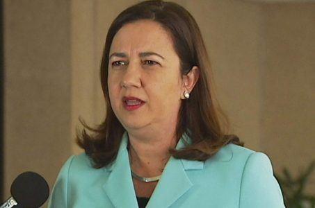 Queensland Premier Annastacia Palaszczuk