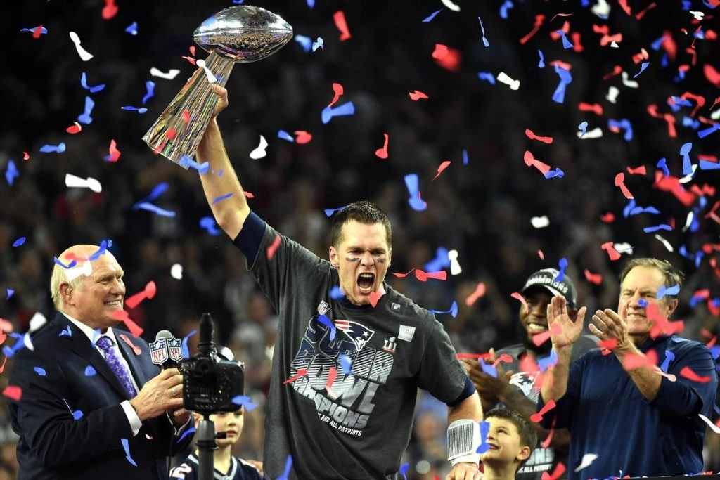 New England Patriots Brady