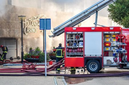 Holland Casino Groningen destroyed by fire